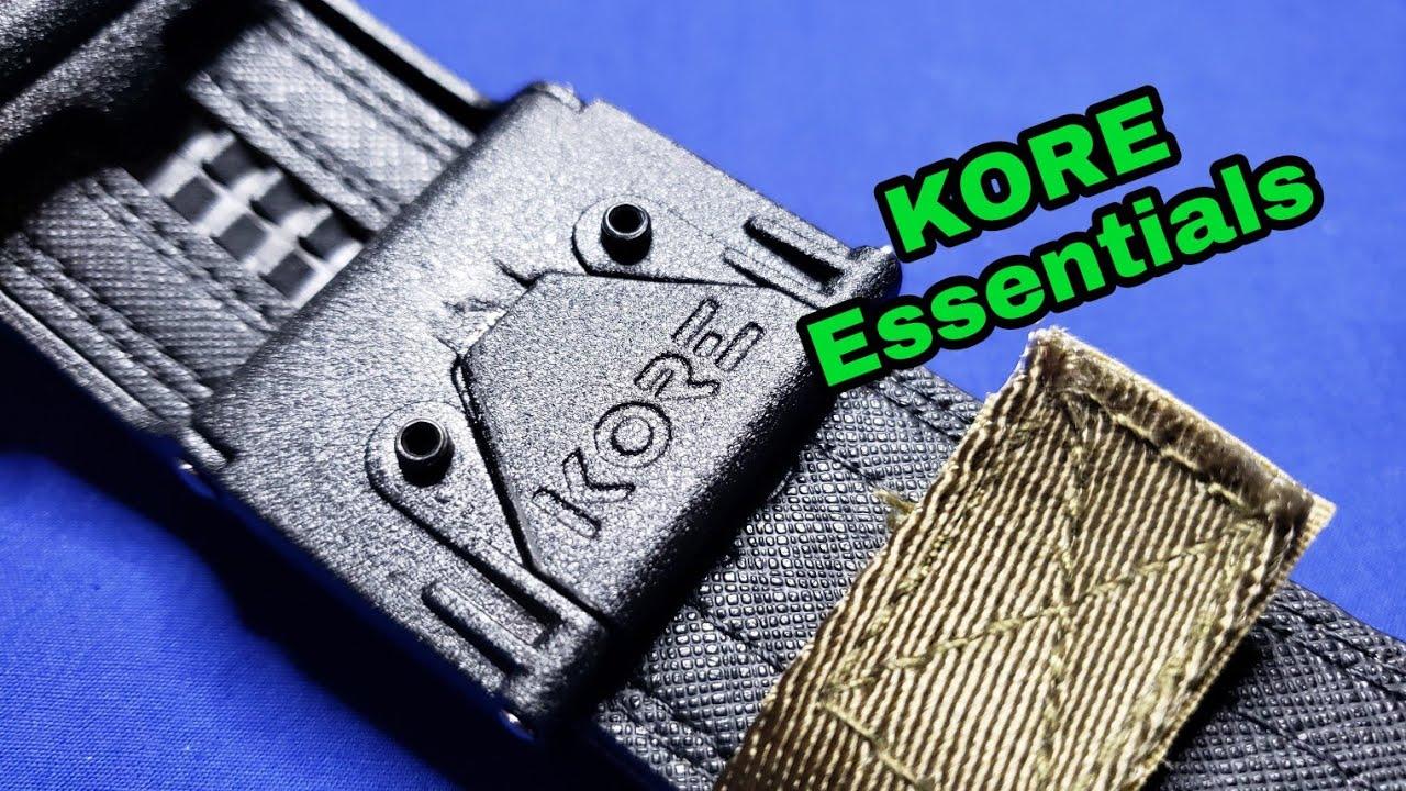 KORE Essentials: The Best EDC Belt?