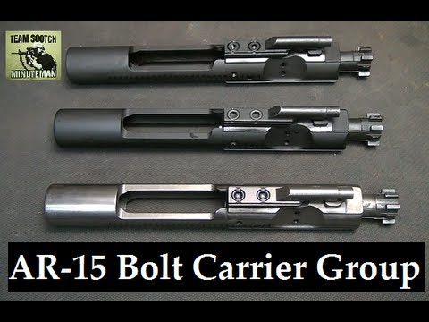 How to I.D. AR 15, M16 & Mil Spec Bolt Carrier Groups