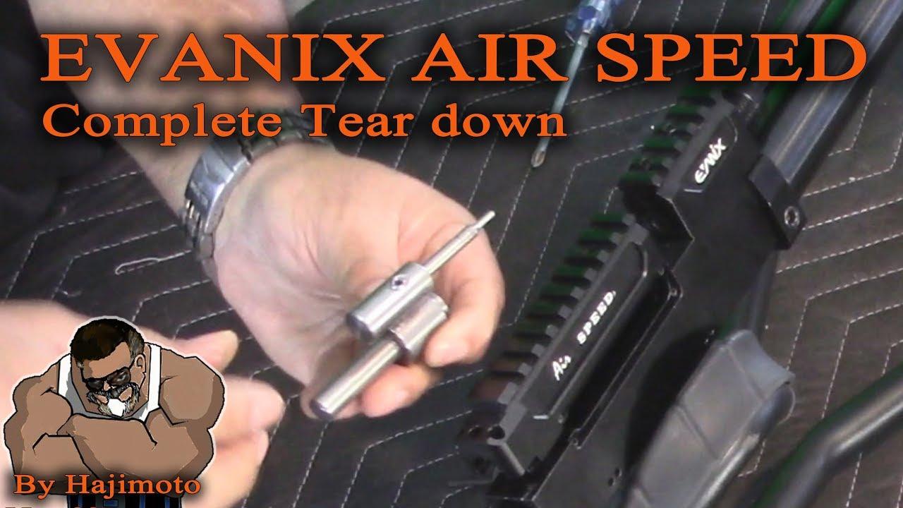 Evanix Air Speed: Tear down