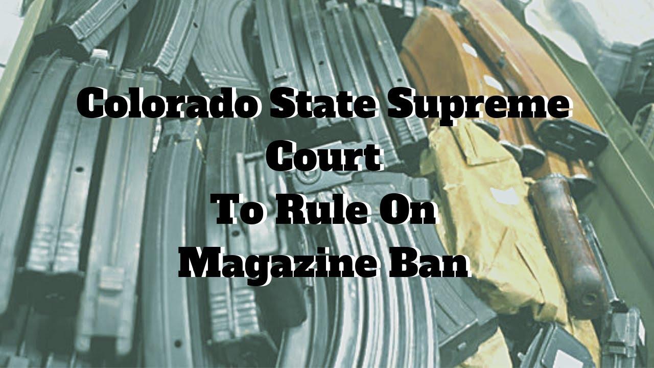Colorado State Supreme Court To Hear