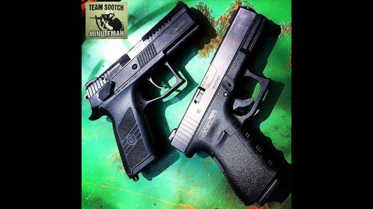 CZ P07 VS Glock Model 19 : Two Different Worlds