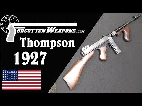 Model 1927 Thompson Semi Automatic Carbine