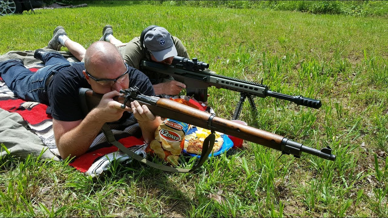 How NOT to shoot a 50 BMG Rifle