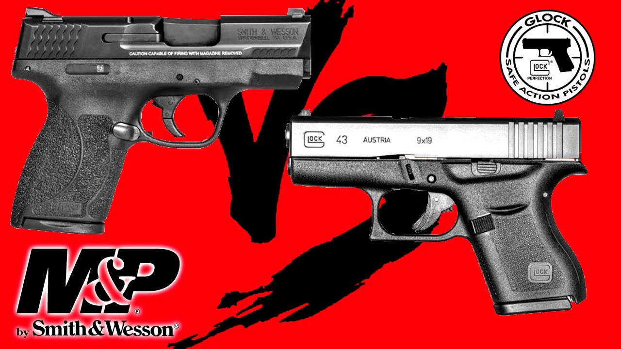 Shield vs Glock 43