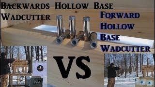 .38 SPL Backwards Wadcutter Ballistic Test