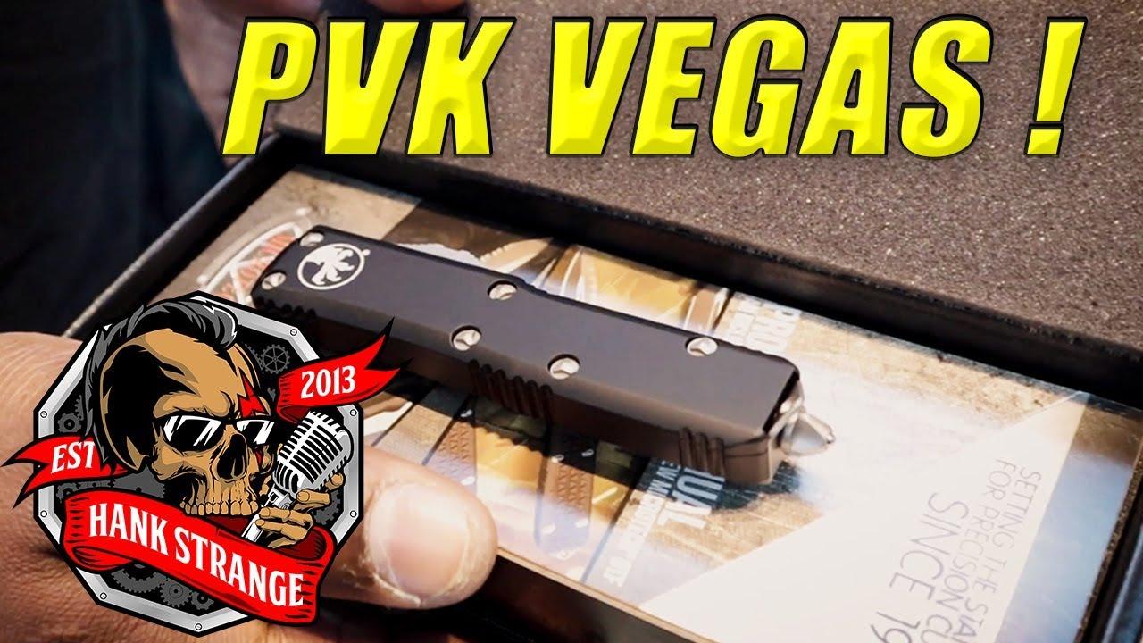 PVK Vegas // Custom Microtech UTX 85 T/E OTF Knife