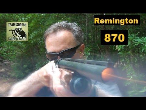 Remington 870 Pump Shotgun