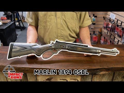 Marlin 1894 CSBL .357 Magnum / .38 Special