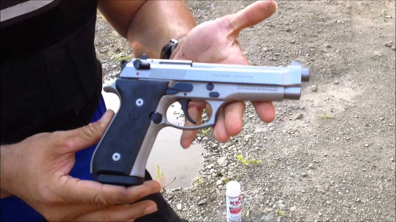 BERETTA 96 VS BERETTA 92 SHOWDOWN (HD)