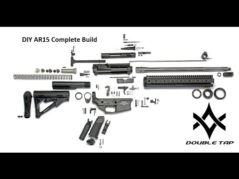 DIY AR15 Complete Step by Step Upper and Lower Build Parts Install