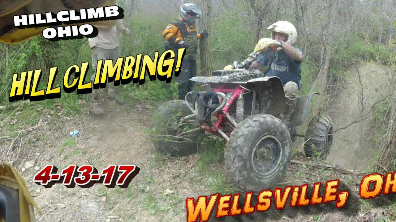 [HILLCLIMB OHIO] 4-14-17 Hillclimbing/Riding, Wellsville, Oh