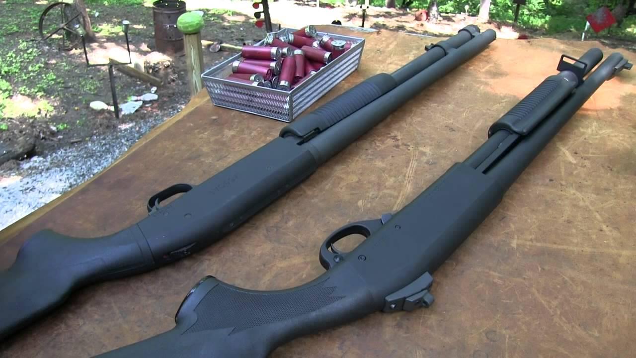 Mossberg 590 vs Remington 870