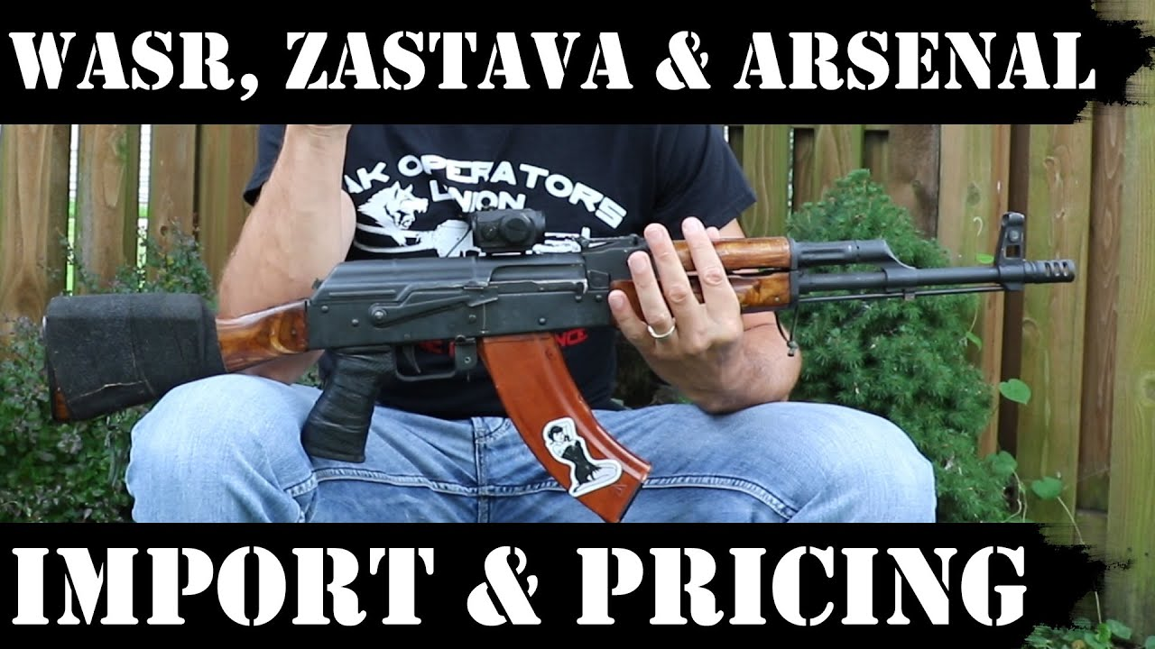 WASR10, Zastava and Arsenal: Import and Pricing Update! + RF AR15 followup...