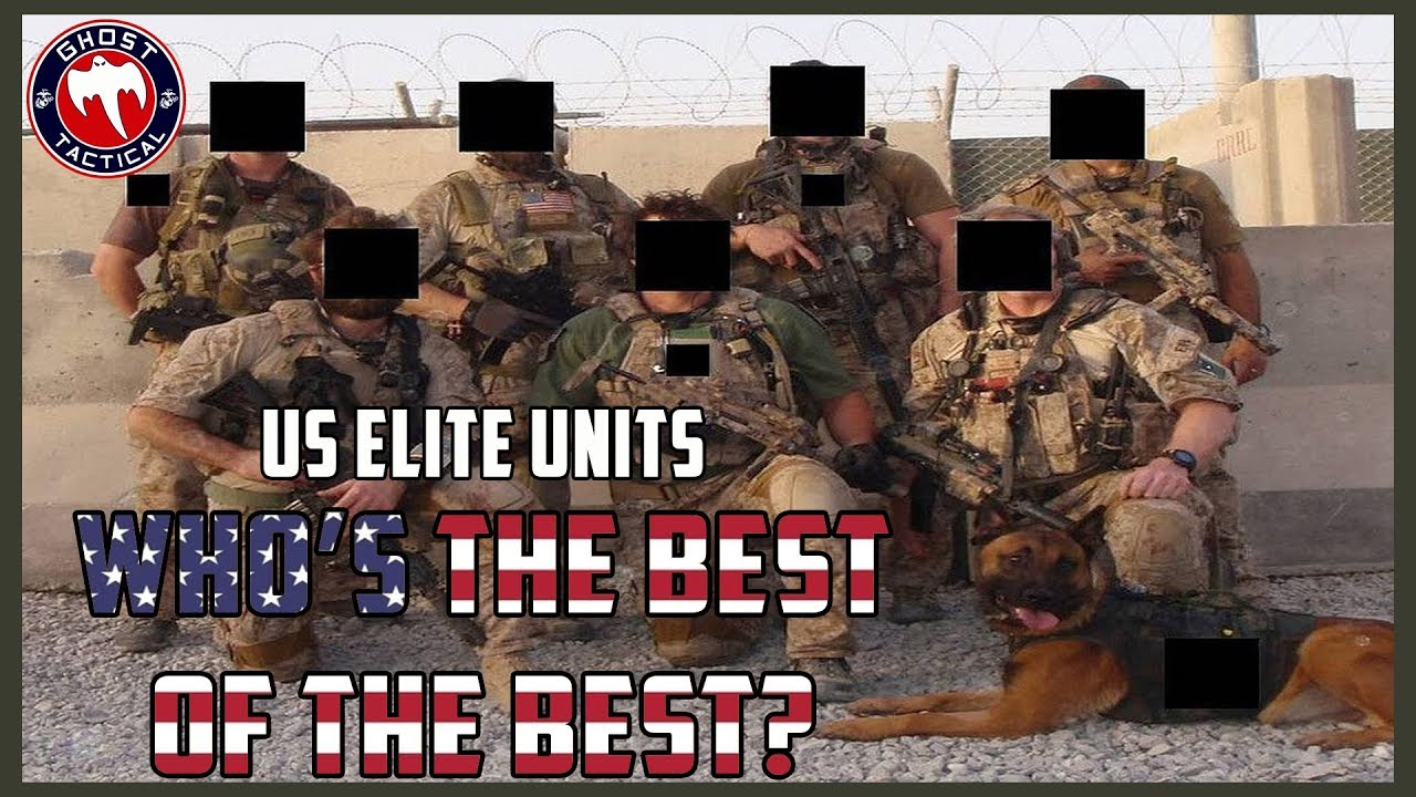 US Elite Special Forces:  Who's the Best of the Best?