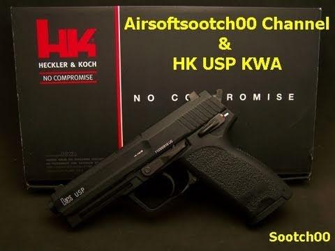 Airsoftsootch00 Channel and HK USP KWA Pistol