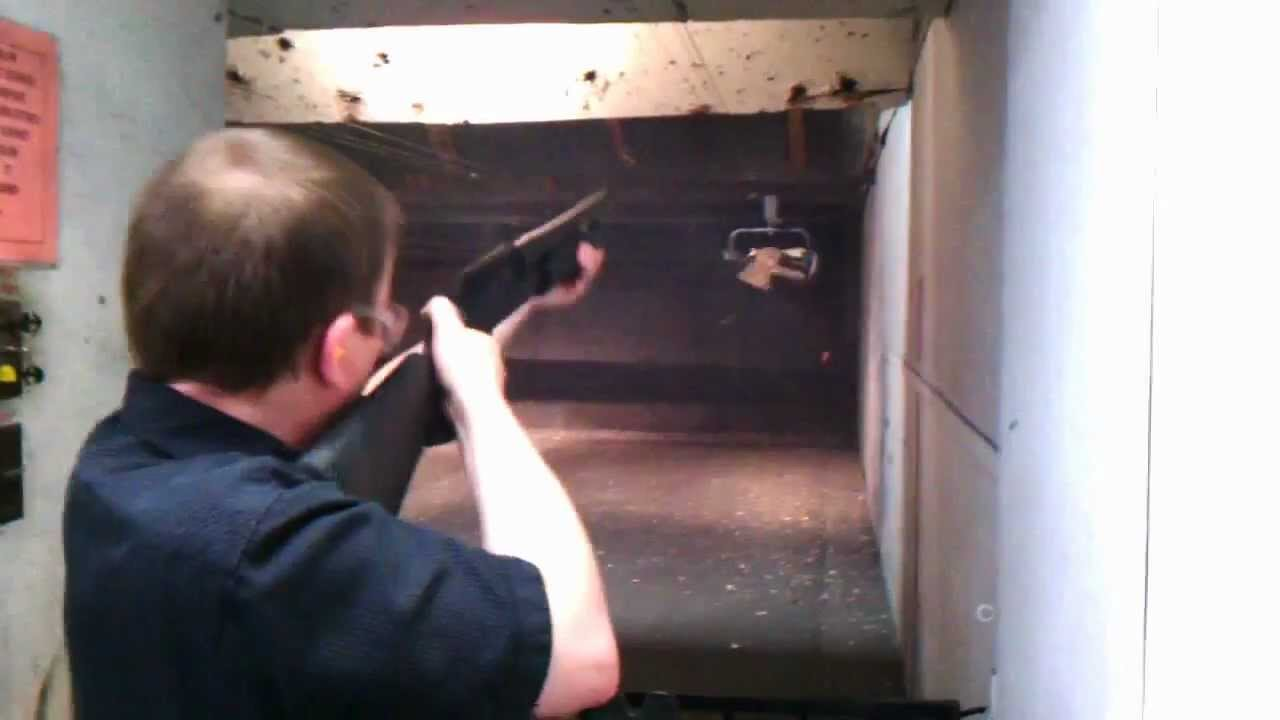 Shooting the Mossberg 500 Combo