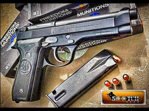 Beretta 92S Police Trade In Surplus Pistol Review