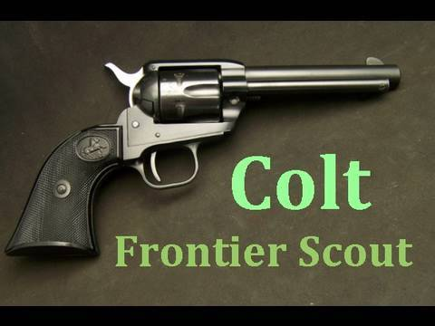 Colt Single Action Frontier Scout 22LR Revolver  Gun Review