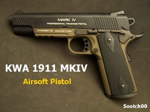 KWA 1911 Airsoft Pistol Review