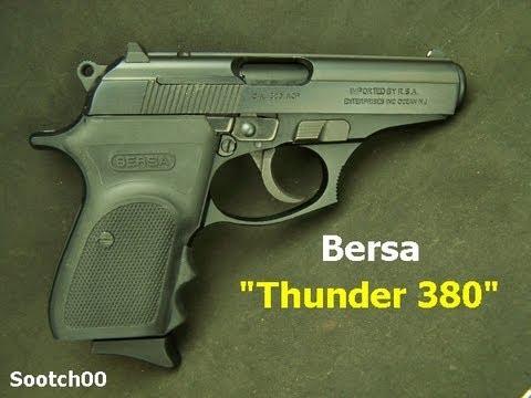 Bersa Thunder 380acp Pistol