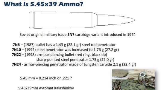 5.45x39 ammo WTF happened in 2014 ?!?