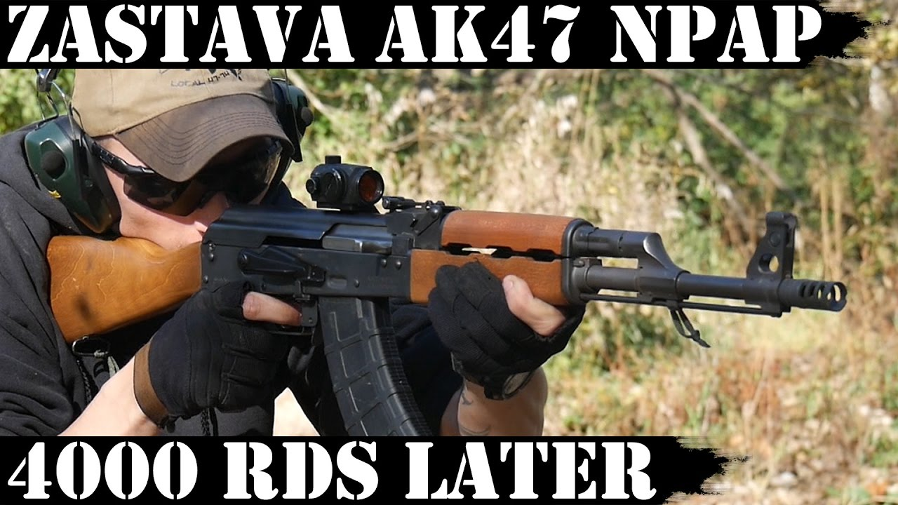 Zastava AK47 NPAP 4000rds later! Parts MIA...