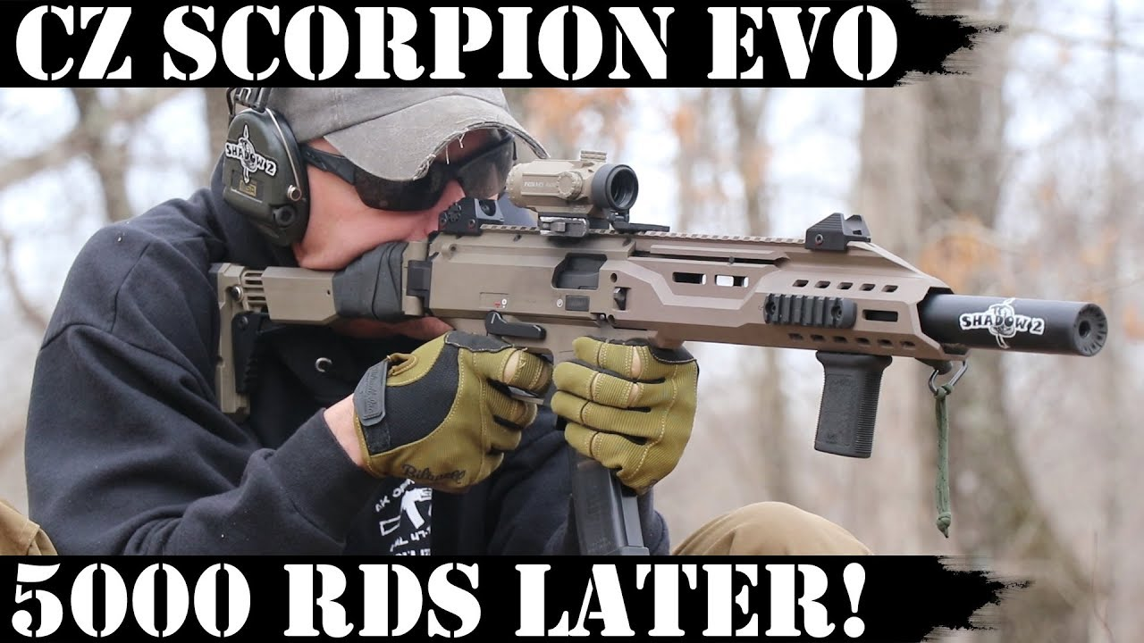 CZ Scorpion Evo: 5,000rds later! Boomshakalaka!