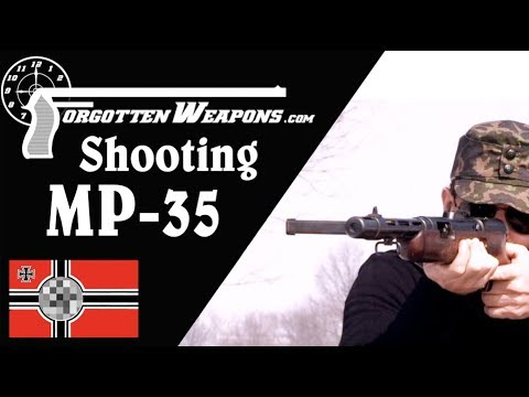 Shooting the MP35: Germany's Left-Handed SMG