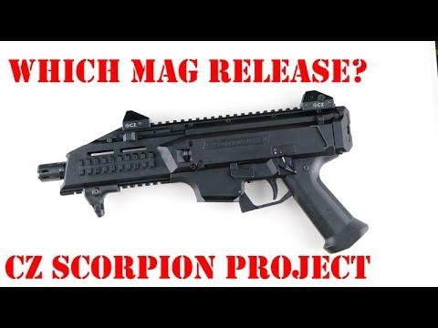 CZ Scorpion Evo Mag Release
