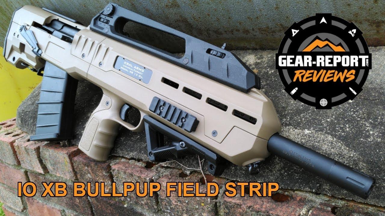 IO XB Bullpup Shotgun Field Strip - AK Platform Shotgun