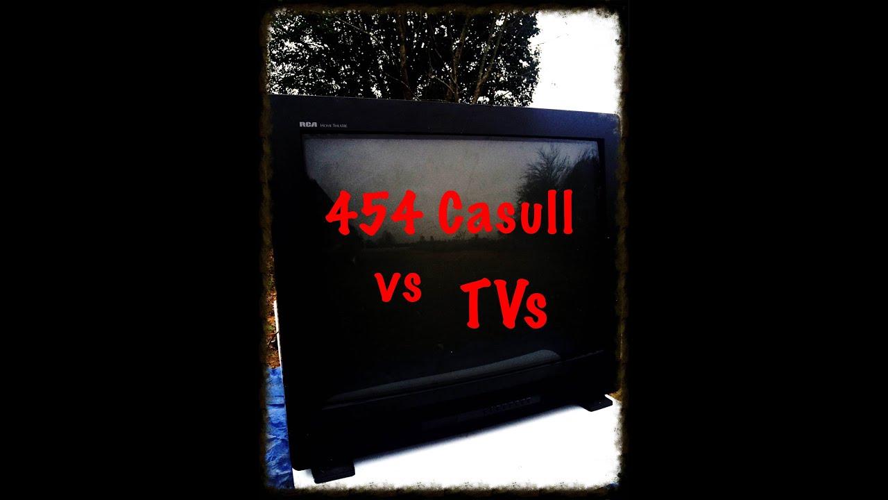 454 Casull vs TVs