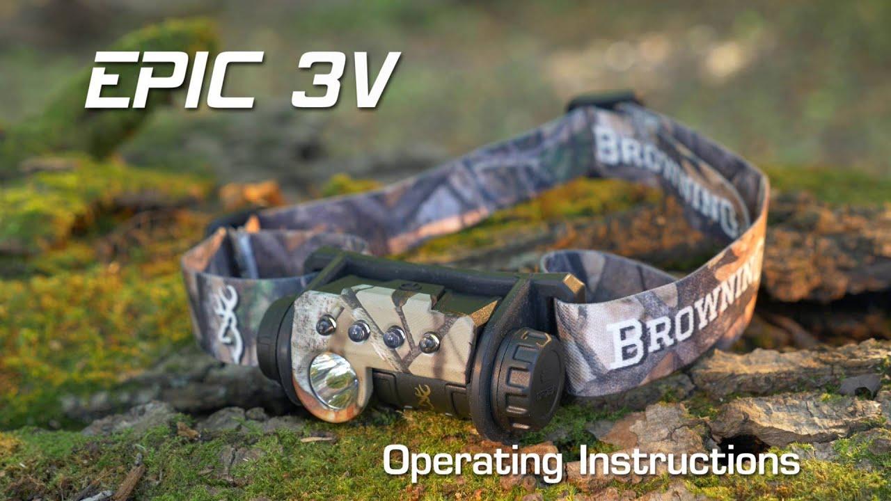 Epic 3V Headlamp Instructional Video --
