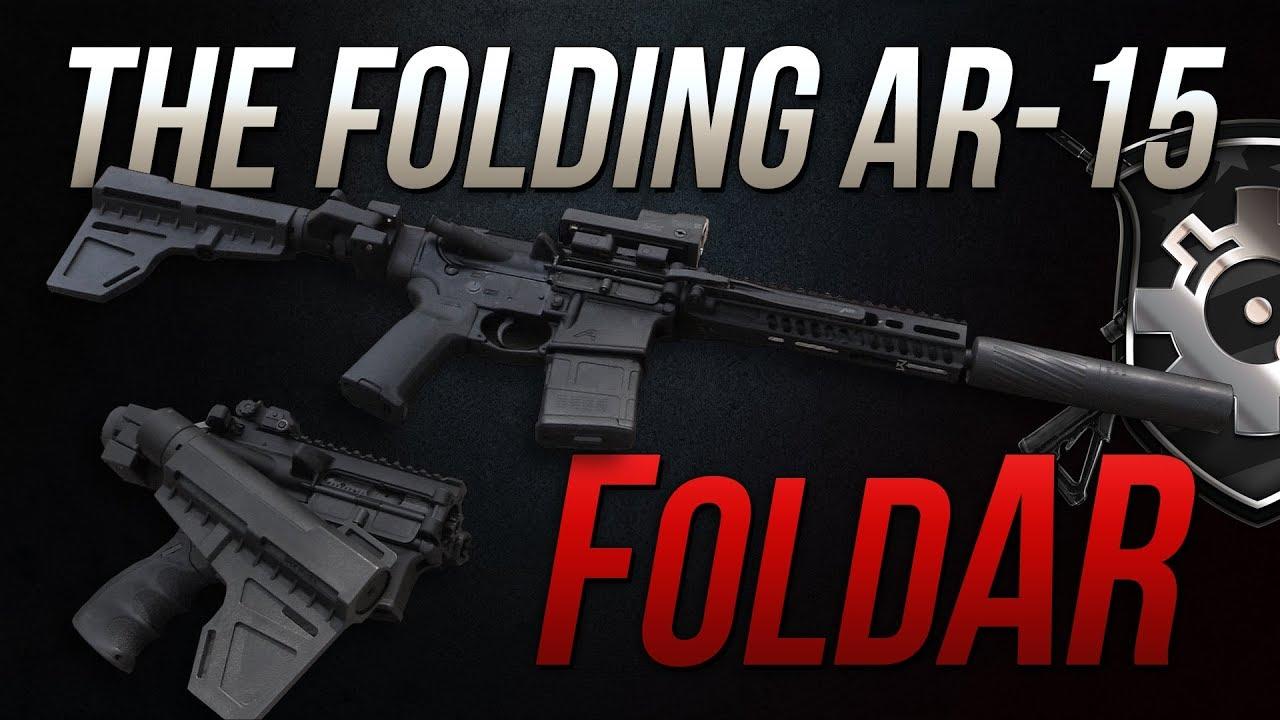 FoldAR - Folding AR-15 Upper and Double Fold AR