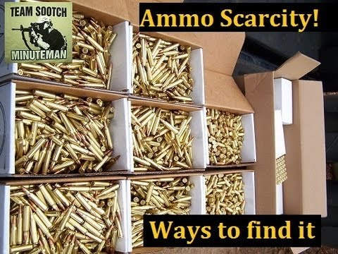 Ammo Scarcity: How To Find Ammunition