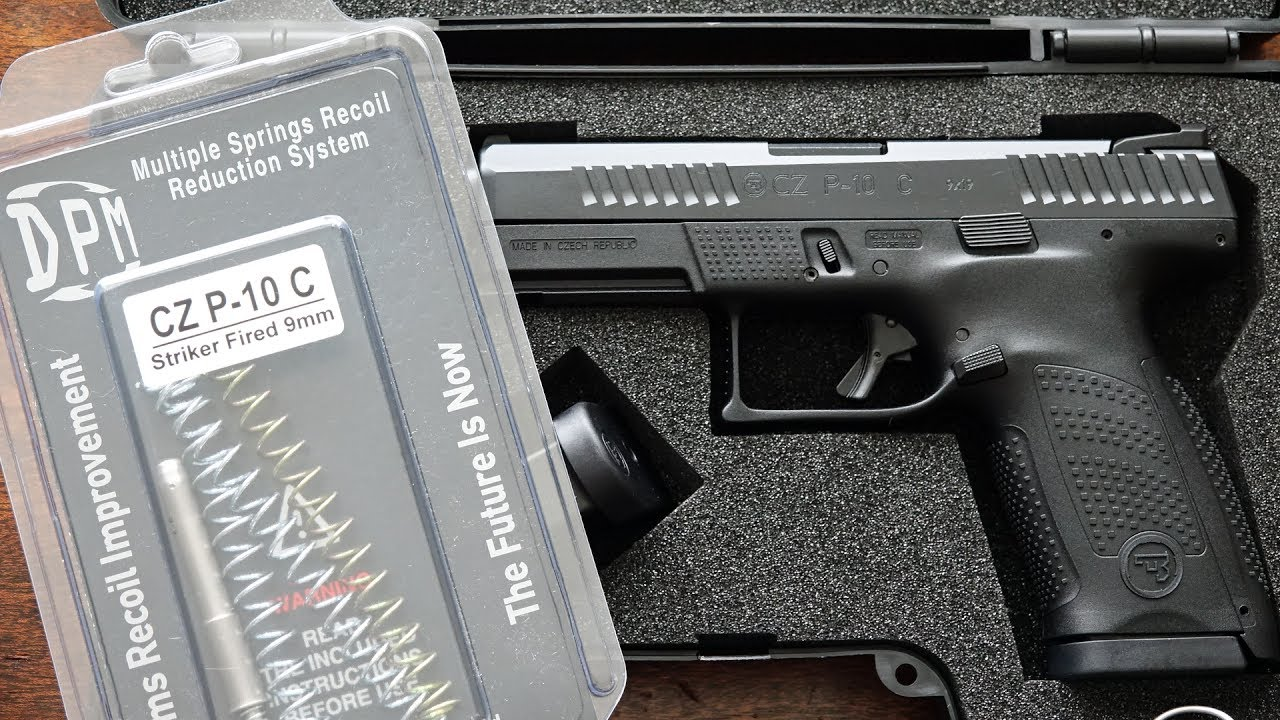 CZ P-10 C   DPM Systems Recoil Reduction System