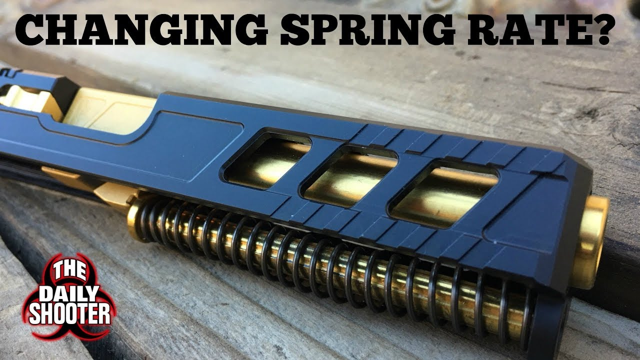 Glock Spring Rates - Should You Change Yours?