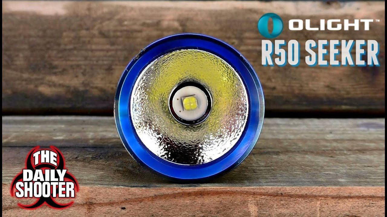 Olight R50 Seeker Review 2,500 LUMENS!