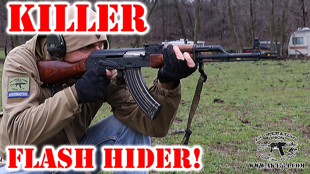 AK47 (AKM) Killer Flash Hider!