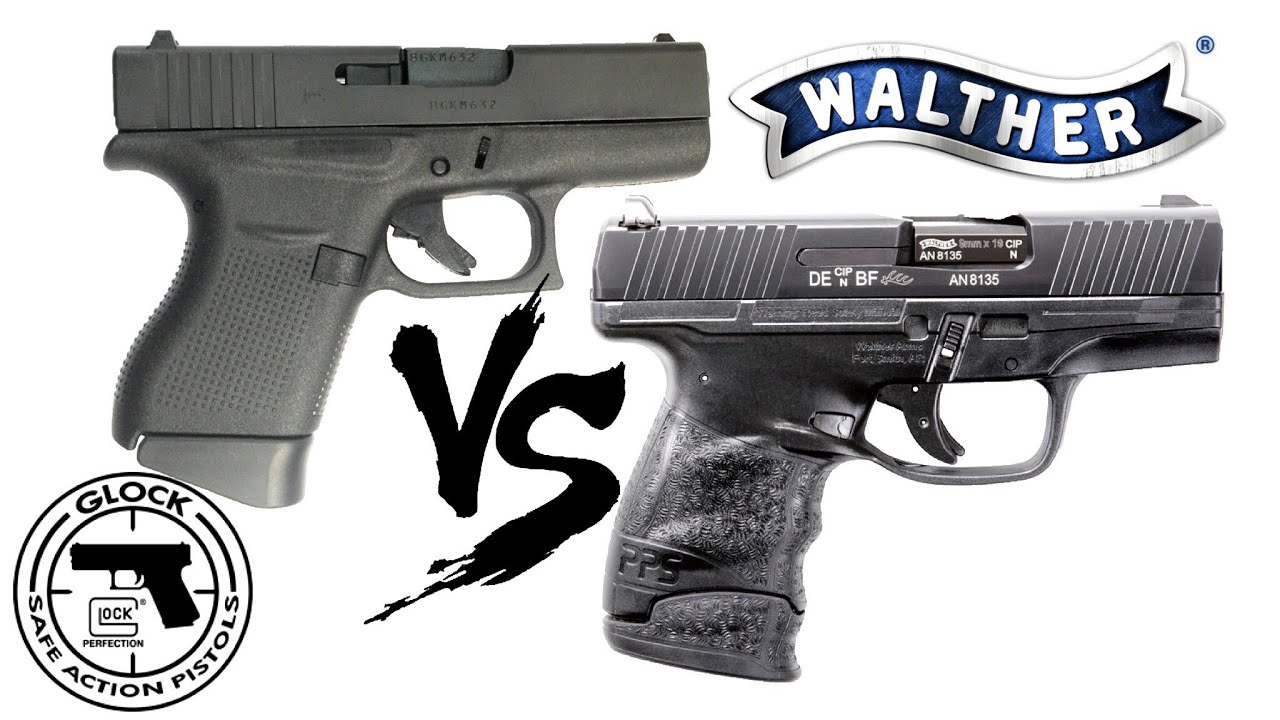 Glock 43 compared With The Walther PPS