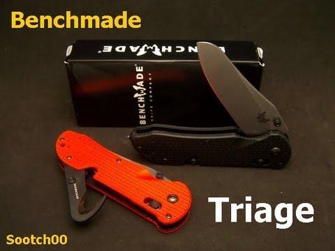 Benchmade Triage 1st Responder Knife