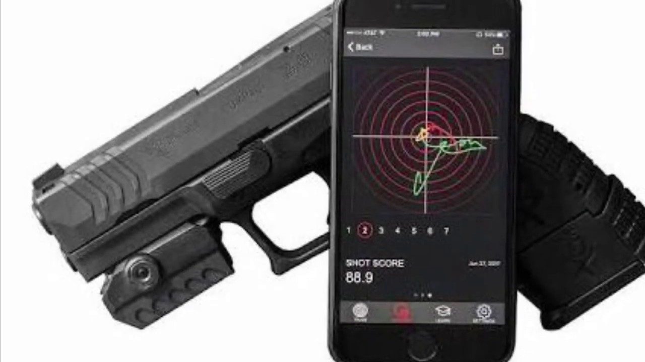 The MantisX firearms training system