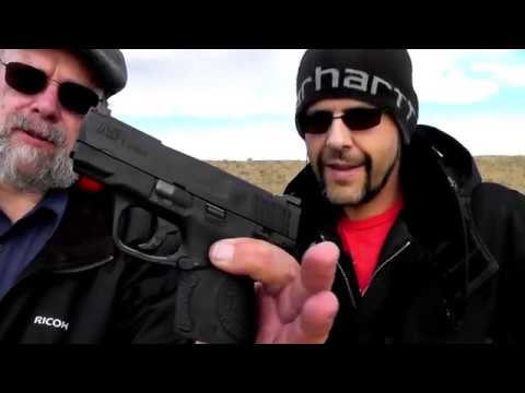 Shooting S&W M&P Shield 9mm pistols with Steve from Good Times Roll