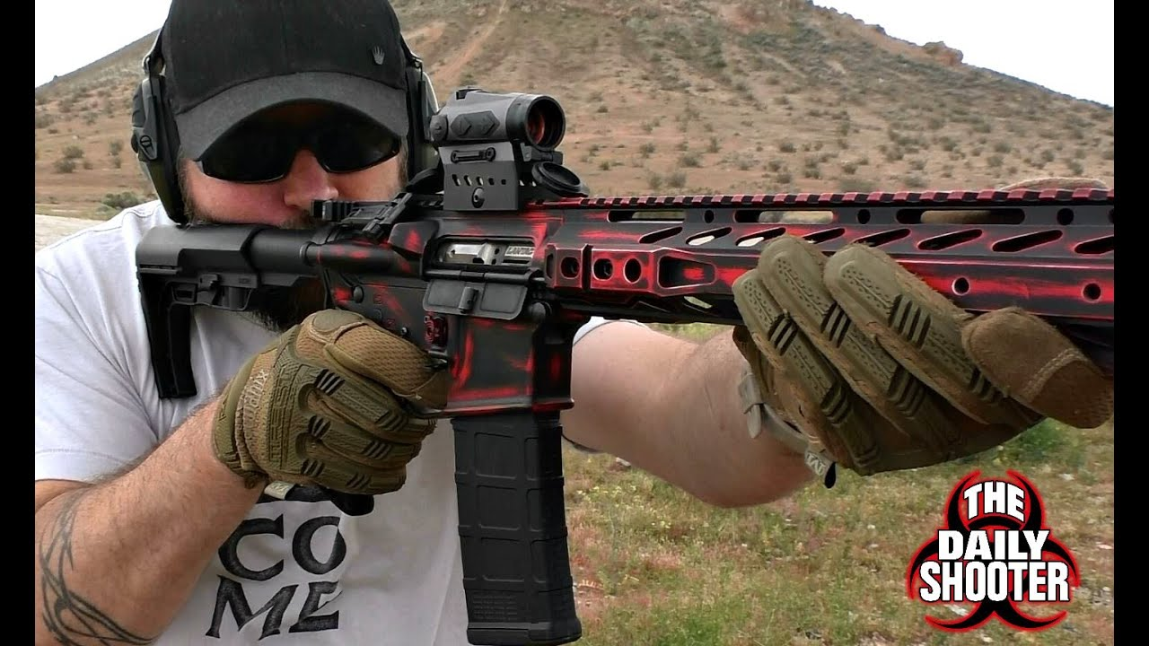 Shooting The Sig Sauer Romeo 4C Solar Red Dot Sight PREVIEW