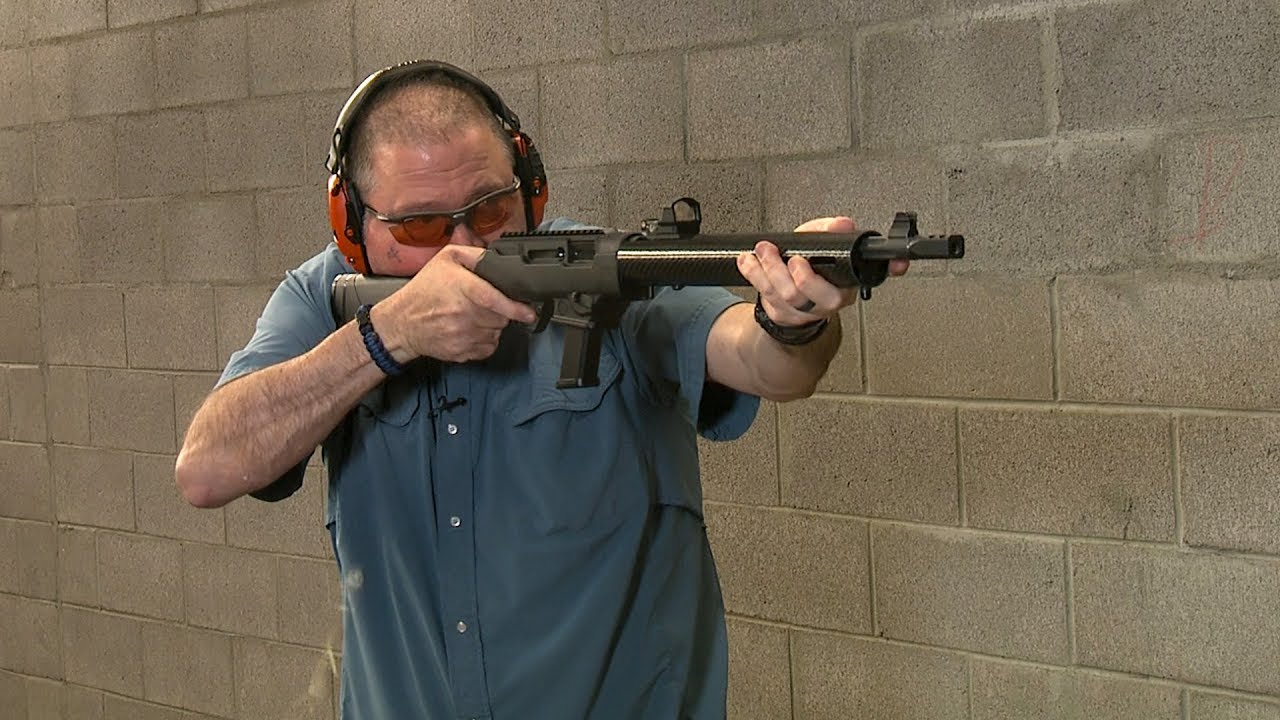 Range Test with the New Taccom Carbon Fiber Handguard on the Ruger PC Carbine