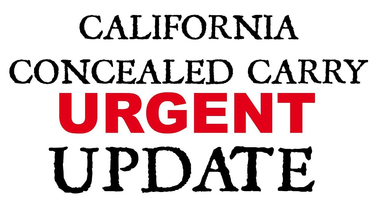 California CCW UPDATE!! 9th Circuit Oral Arguments Heard