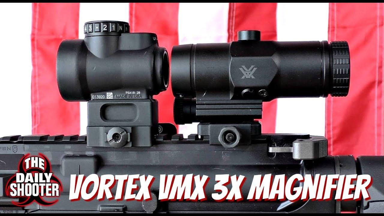 Vortex VMX 3T Review & Testing with Trijicon MRO