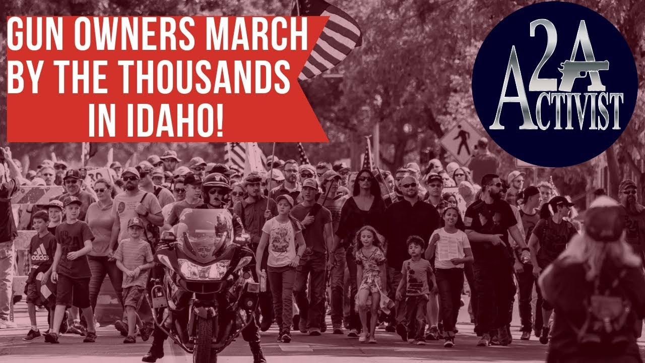 2,000 Gun Owners March In Idaho! Media silent. 2AA Show Episode 35