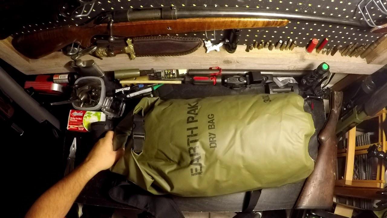 Earth Pak Original Dry Bag Backpack Review