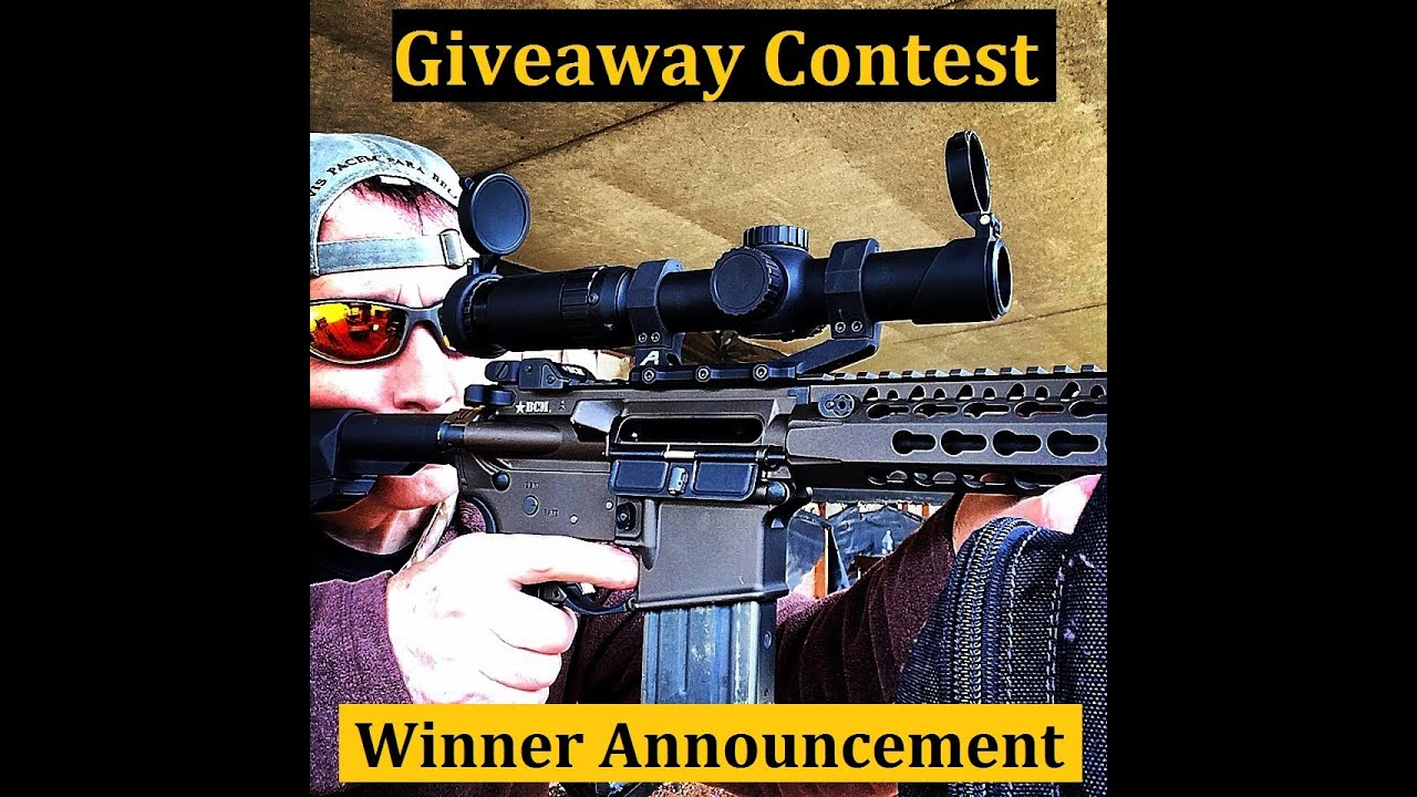 Primary Arms 1 6x ACSS Scope package Contest Winner