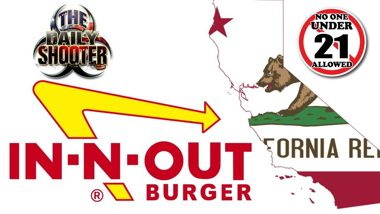 California News!  In-N-Out Burger Boycott & SB1100 Passes
